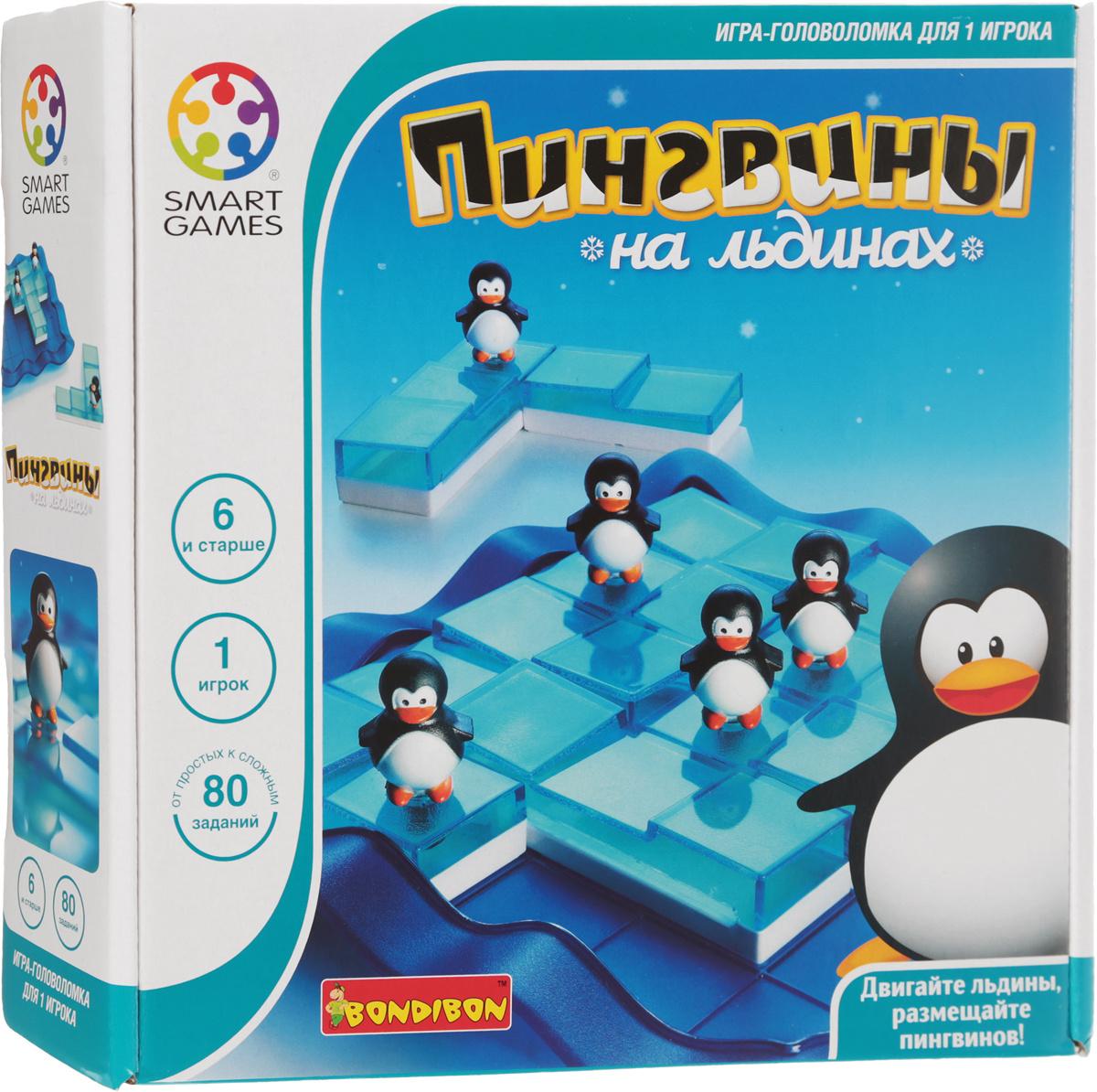 Bondibon Обучающая игра Пингвины на льдинах #1