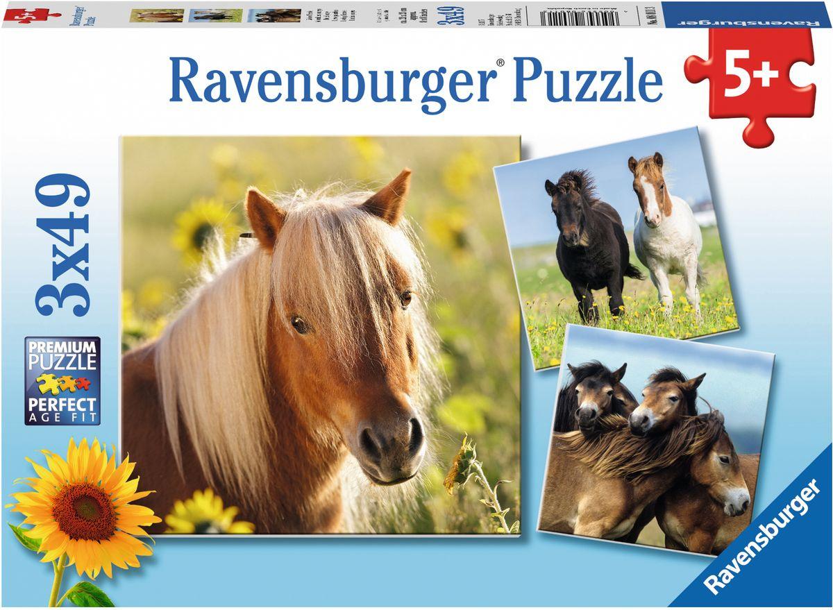 Ravensburger Пазл Пони 3 в 1 #1