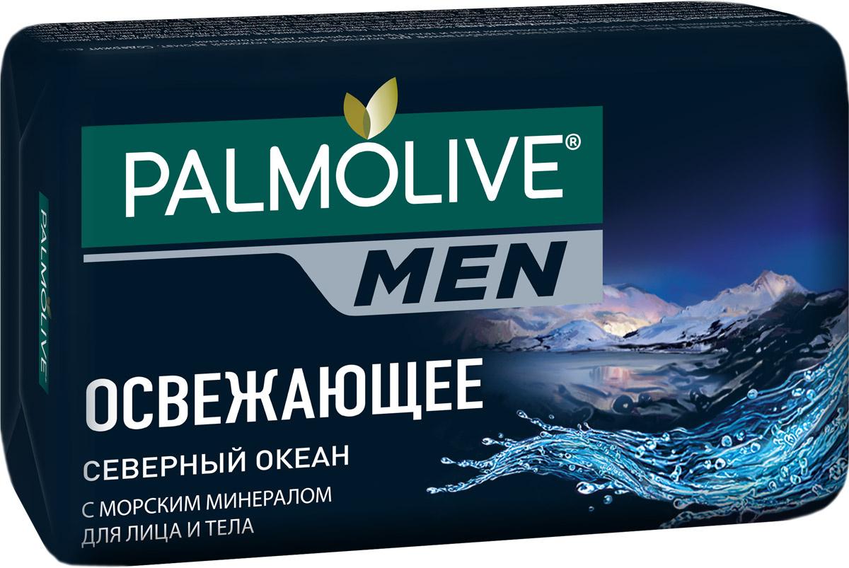 """Palmolive Мыло туалетное Palmolive Men """"Северный Океан"""", для лица и тела, освежающее, с морскими минералами, #1"""