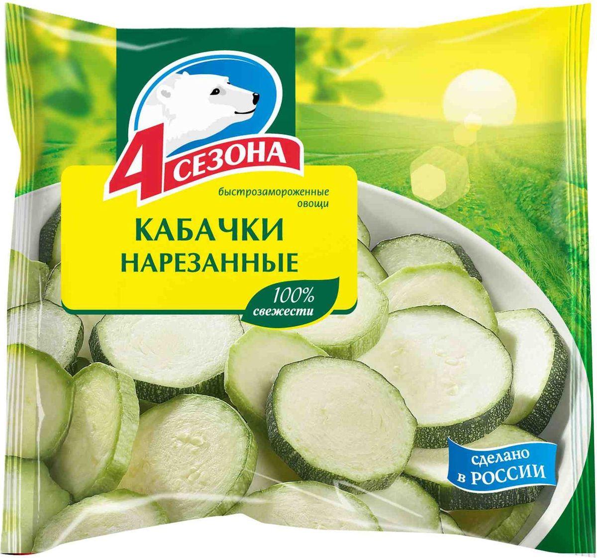 4 Сезона Кабачки нарезанные, 400 г #1