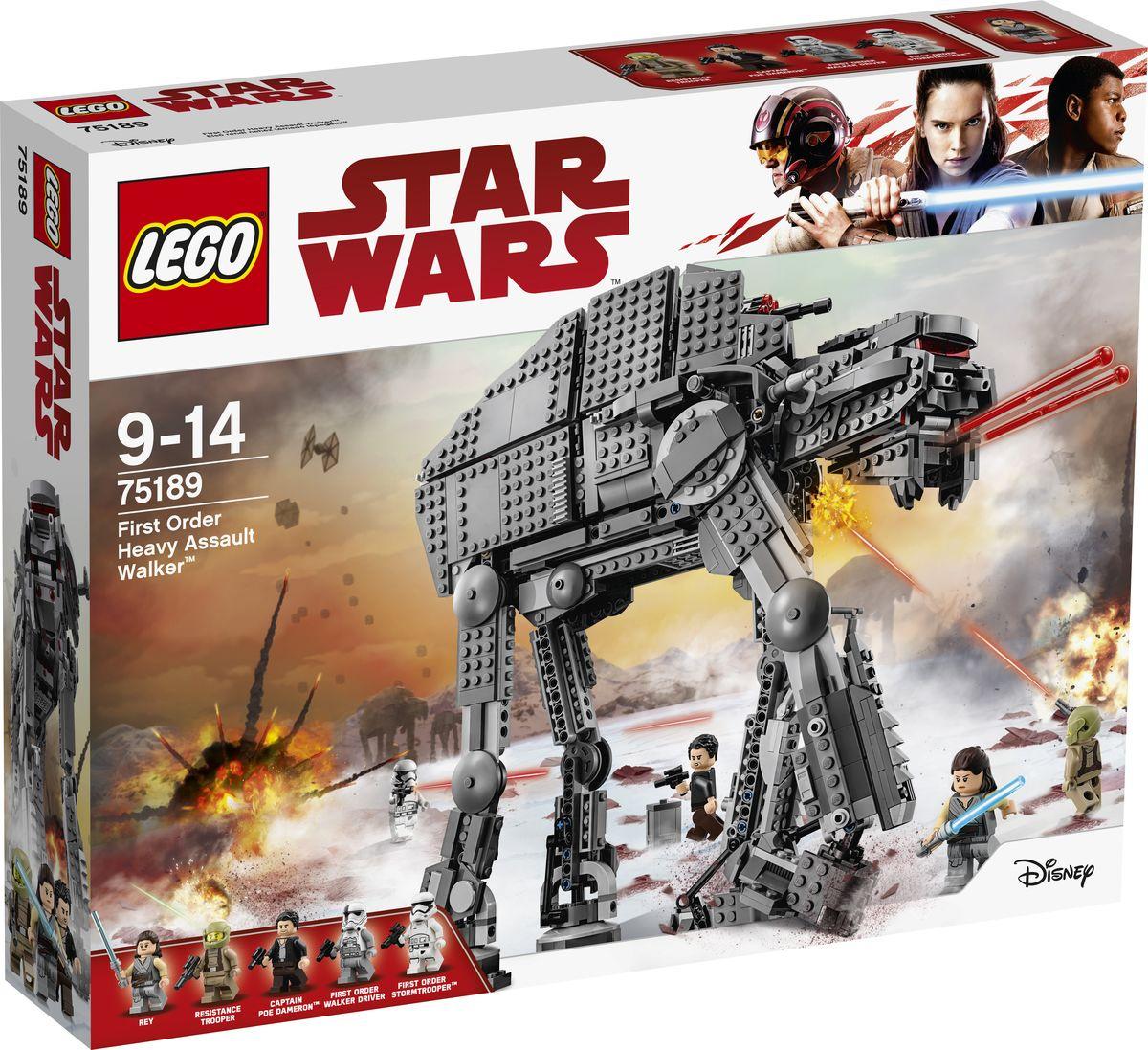 Конструктор LEGO Star Wars 75189 Штурмовой шагоход Первого ордена  #1