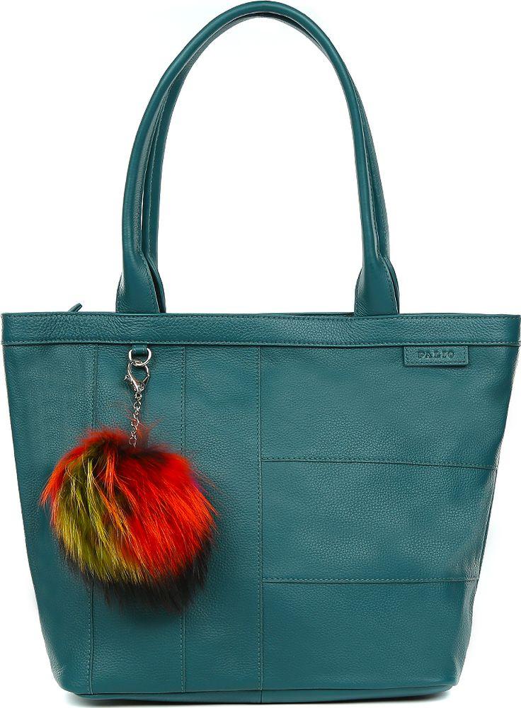 77203d1a9afc Сумка женская Palio, цвет: темно-бирюзовый. 15157AR2-687 green — купить в  интернет-магазине OZON.ru с быстрой доставкой