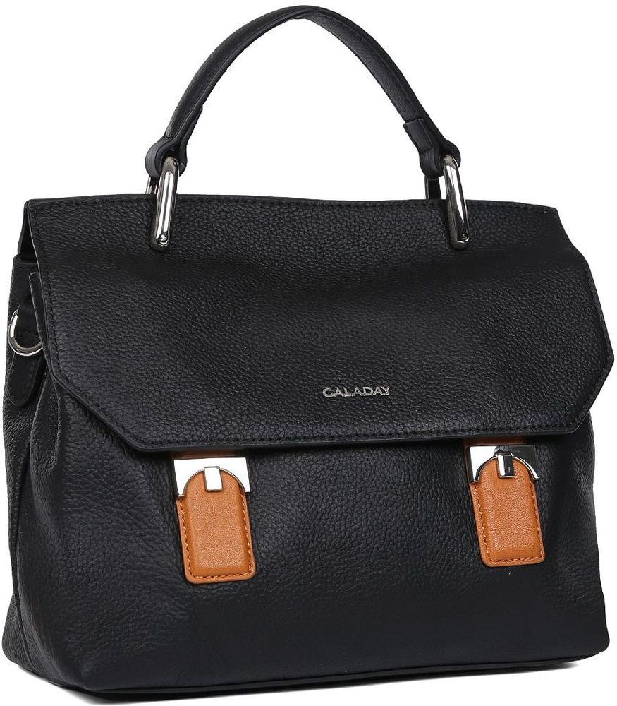 11cd83073073 Сумка женская Galaday, цвет: черный. GD7592Q — купить в интернет-магазине  OZON.ru с быстрой доставкой