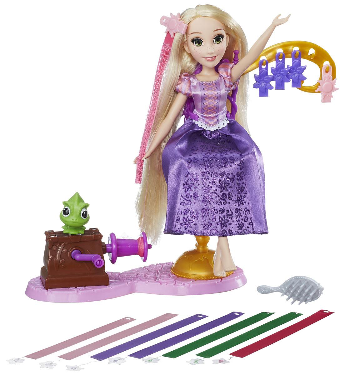 Disney Princess Игровой набор с куклой Королевский салон Рапунцель  #1