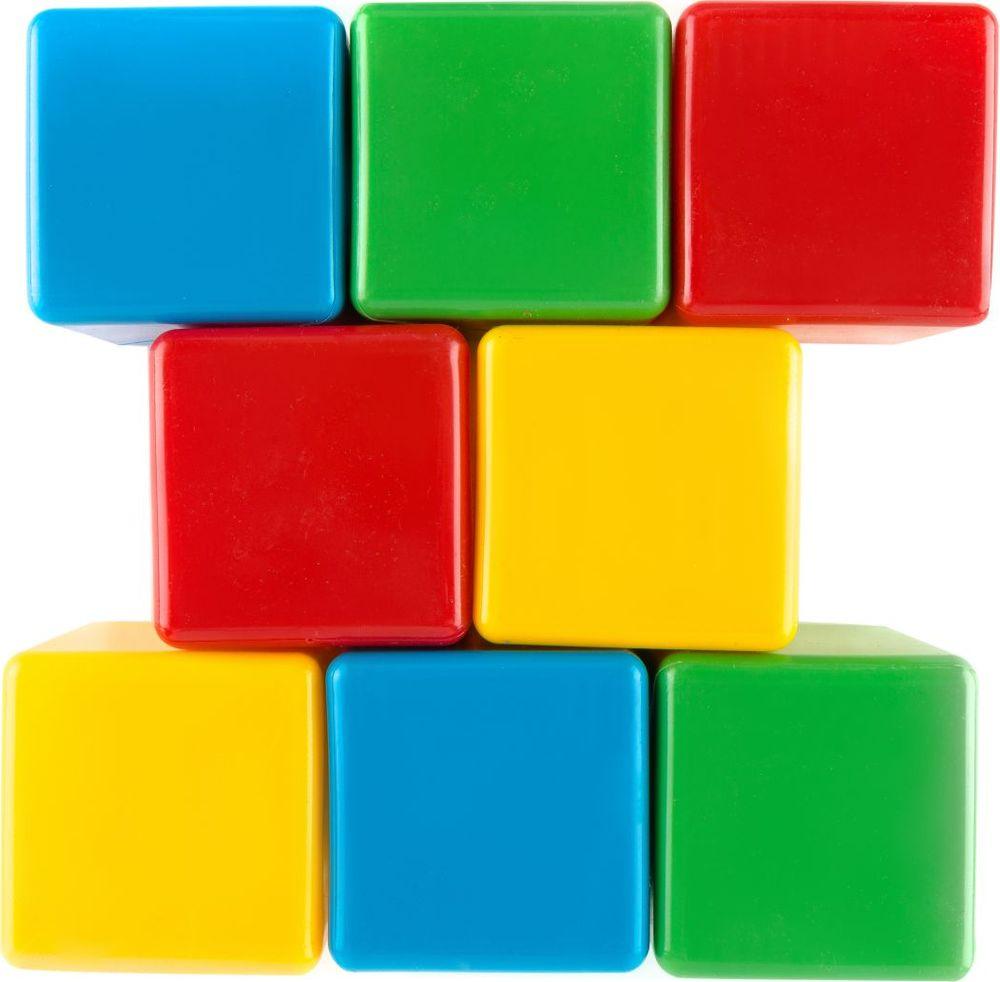 Пластмастер Набор кубиков 10х10 см #1
