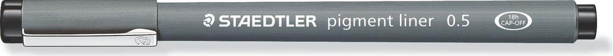 Staedtler Ручка капиллярная Pigment Liner 0,5 мм цвет чернил черный  #1