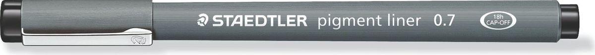Staedtler Ручка капиллярная Pigment Liner 0,7 мм цвет чернил черный  #1