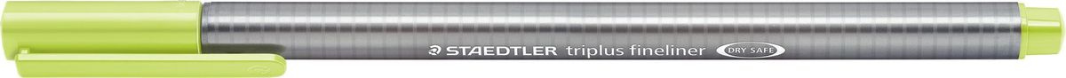 Staedtler Ручка капиллярная Triplus 334 0,3 мм цвет чернил зеленый лайм  #1