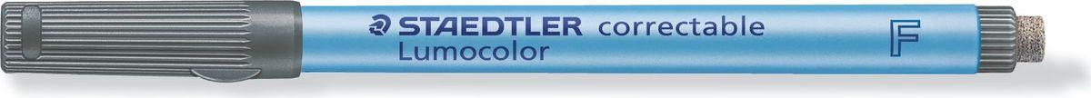 Staedtler Маркер Lumocolor с ластиком 0,6 мм цвет чернил черный #1
