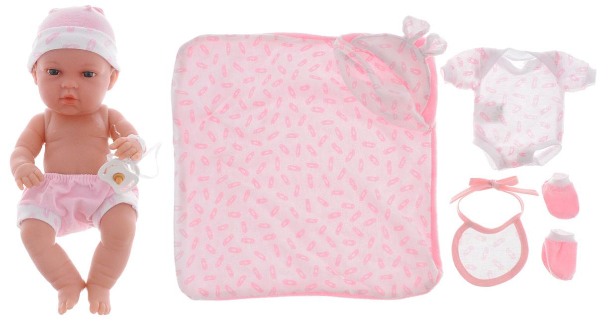 Arias Пупс Elegance с пинетками одеяльцем цвет одежды розовый  #1