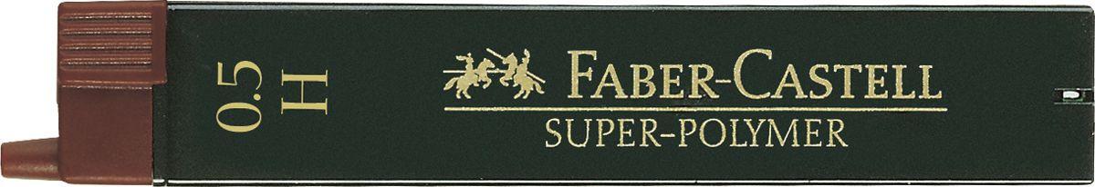 Faber-Castell Грифель для карандаша Superpolymer H 0,5 мм 12 шт #1
