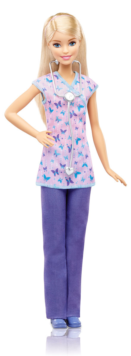 Barbie Кукла Медсестра DVF57 #1
