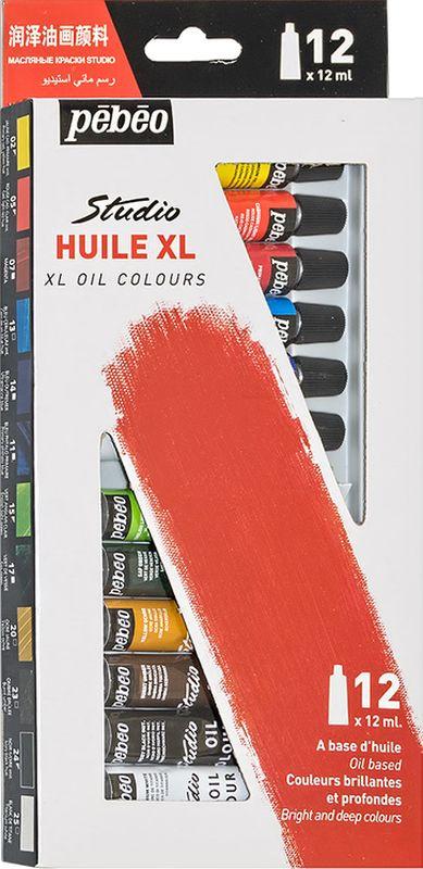 Pebeo Краска масляная набор XL 12 цветов 668100 12 мл #1