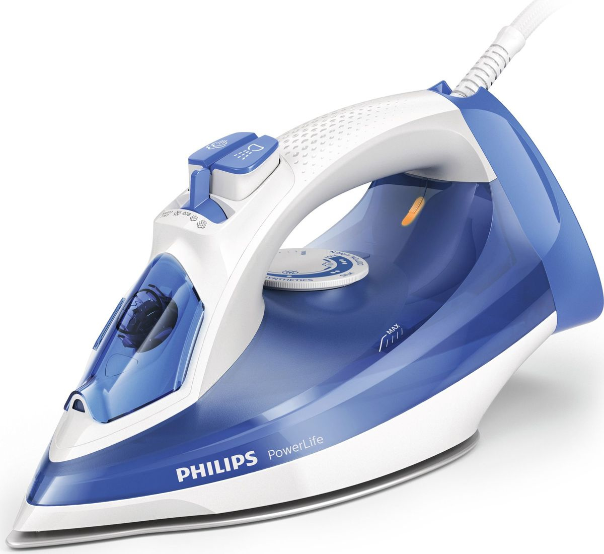 Утюг Philips GC2990/20 PowerLife, White Blue #1