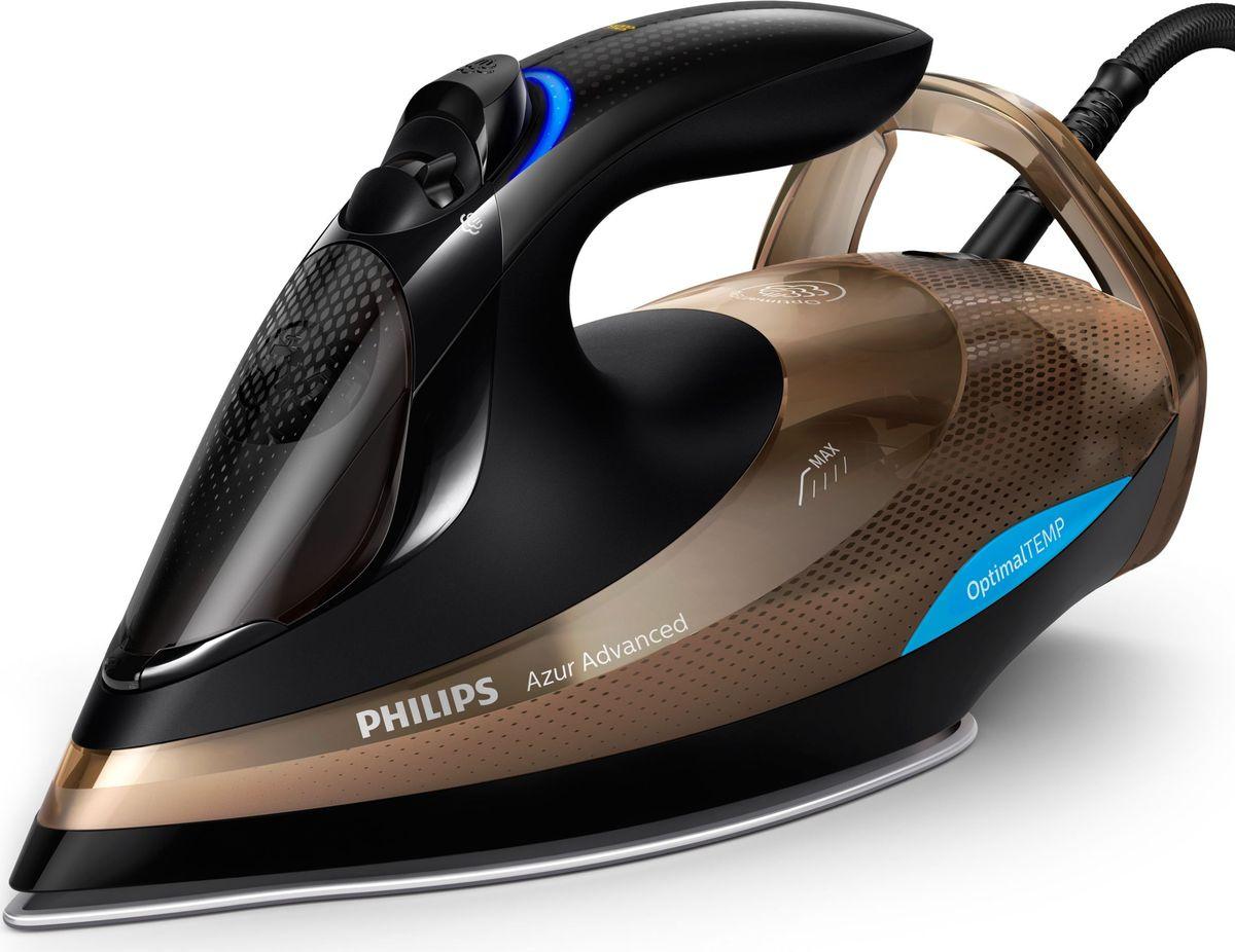 a33ec561e53a20 Утюг Philips GC4939/00 Azur Advanced, Bronze Black — купить в  интернет-магазине OZON с быстрой доставкой
