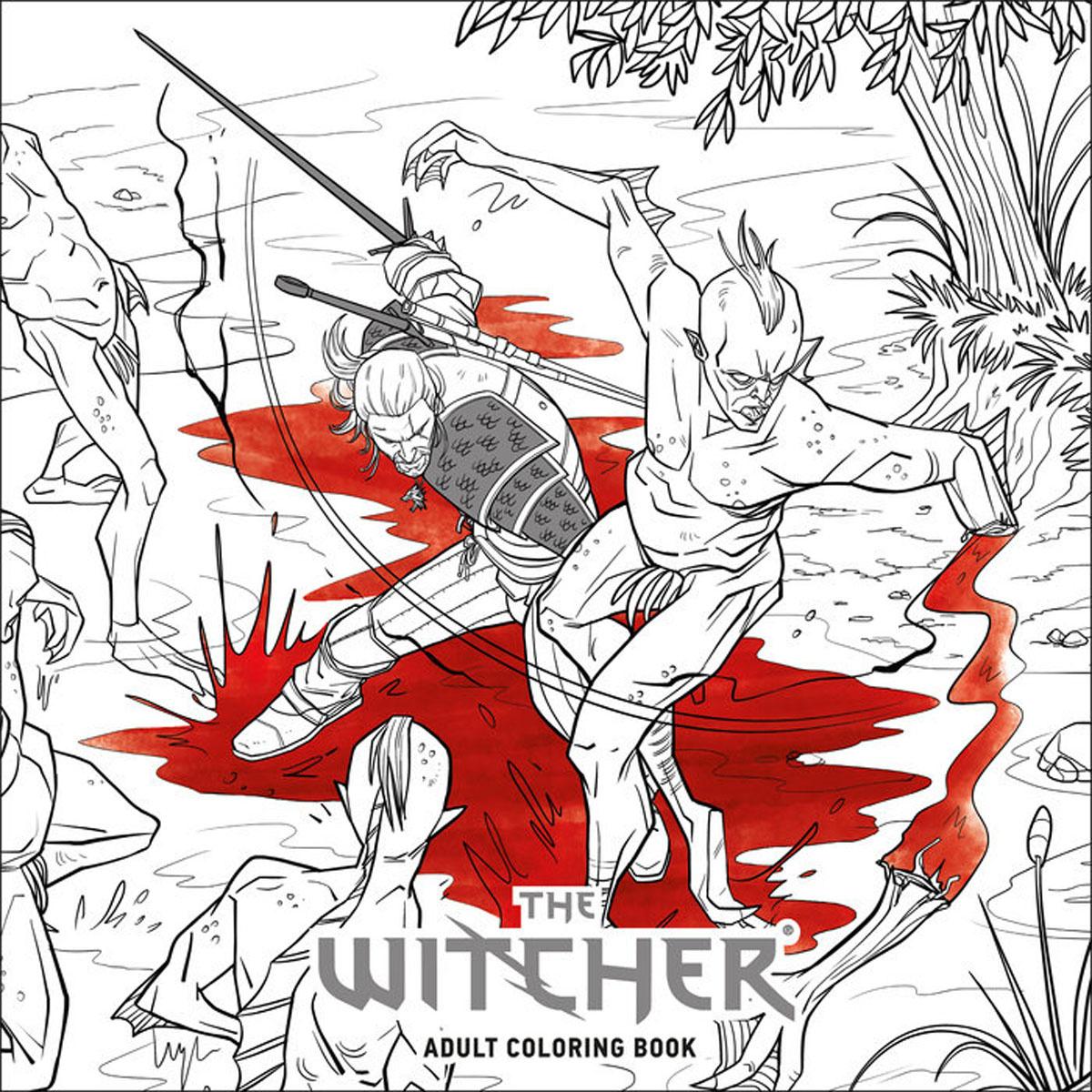 The Witcher Adult Coloring Book купить в интернет магазине Ozon с быстрой доставкой