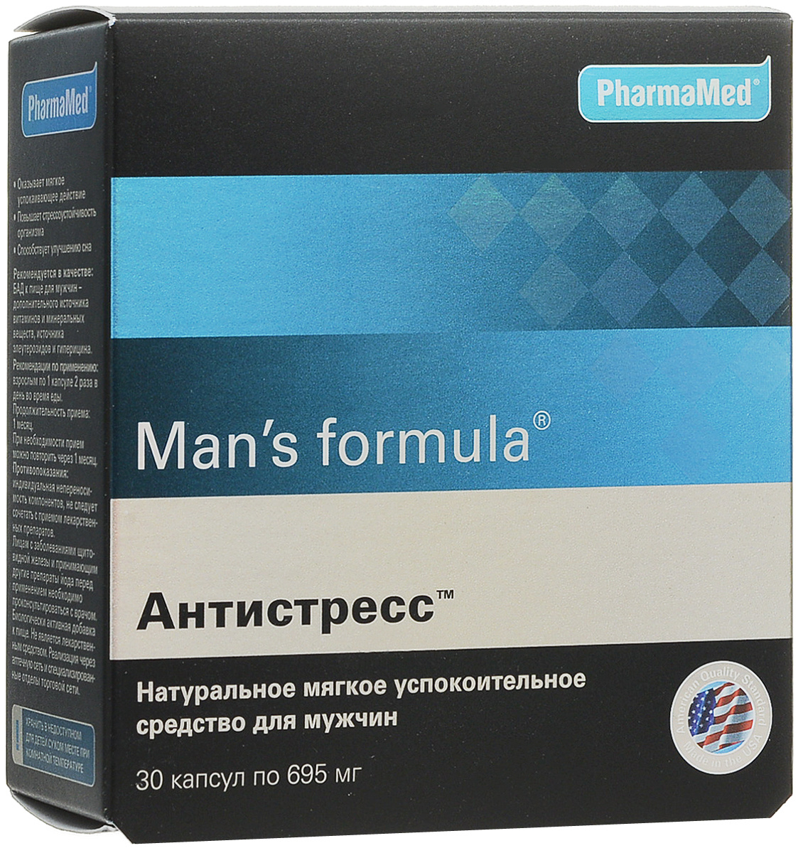 "Биокомплекс Man's formula ""Антистресс"", 695 мг х 30 капсул #1"