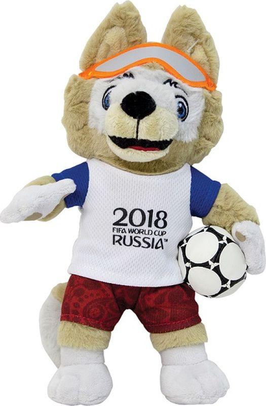 0be59be6d959 FIFA-2018 Мягкая игрушка Волк Забивака 24 см — купить в интернет-магазине  OZON.ru с быстрой доставкой