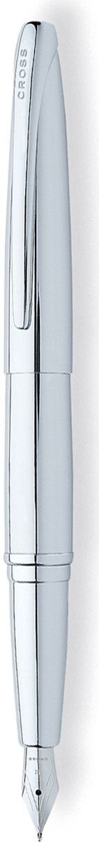 Cross Ручка перьевая ATX цвет корпуса серебристый среднее перо  #1