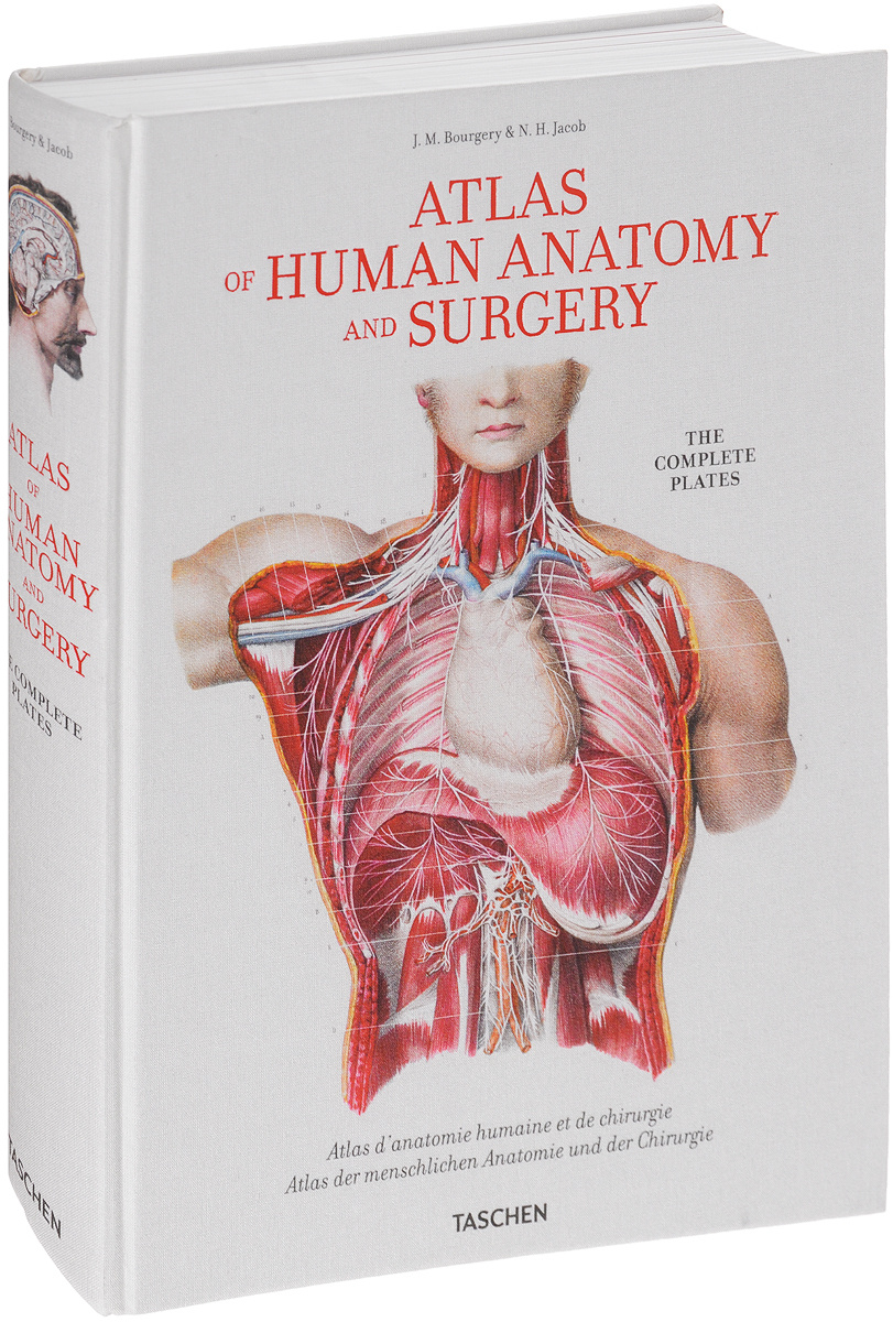 Atlas of Human Anatomy and Surgery: The Complete Plates | Bourgery Jean Marc, Jacob Nicolas Henri #1