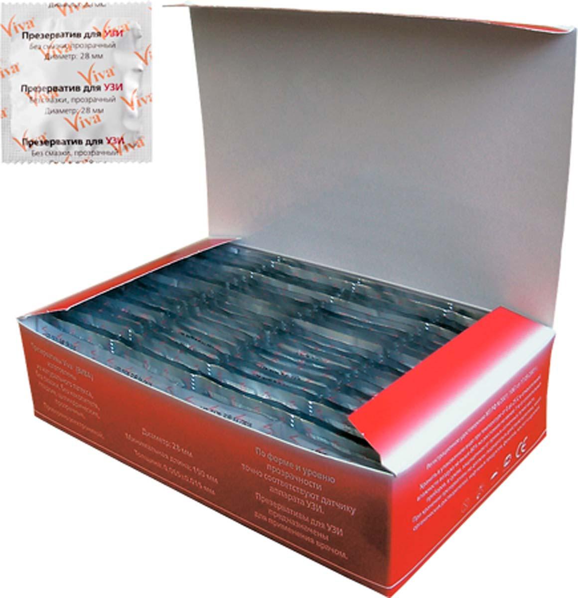 VIVA Презервативы для УЗИ, 100 шт #1