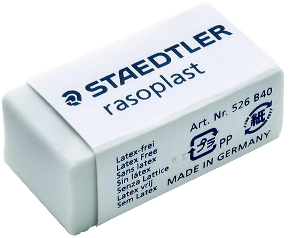 Staedtler Ластик Rasoplast цвет белый #1