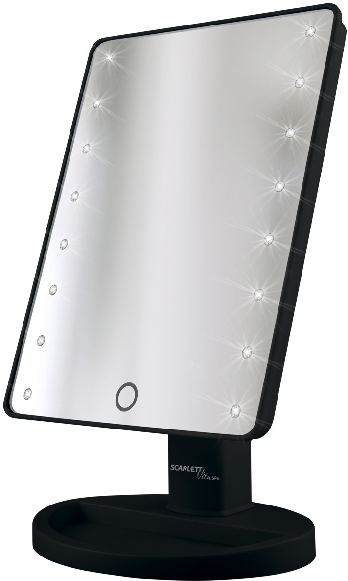Scarlett SC-MM308L05, Black зеркало косметическое #1