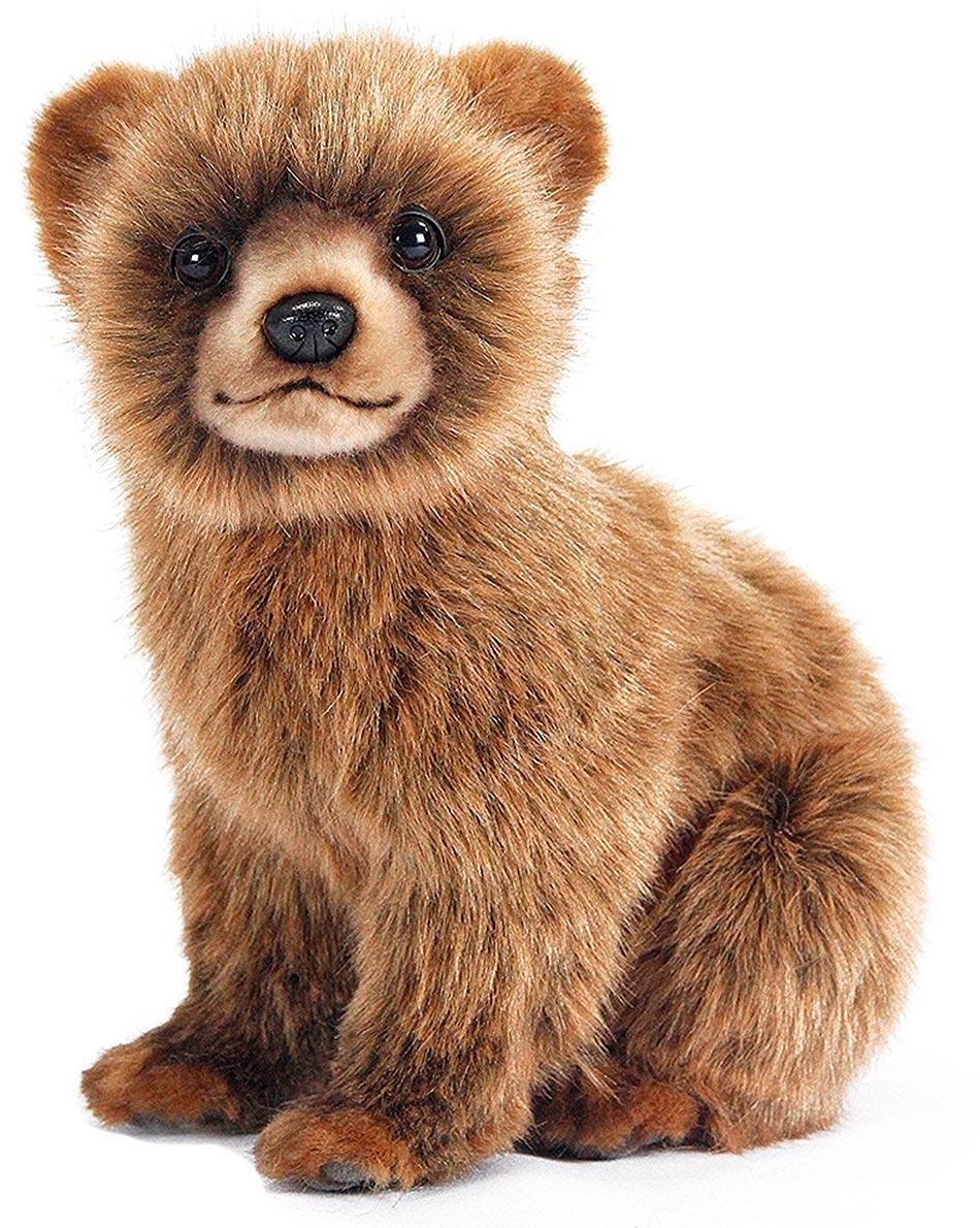 Hansa Мягкая игрушка Медвежонок цвет коричневый 24 см #1