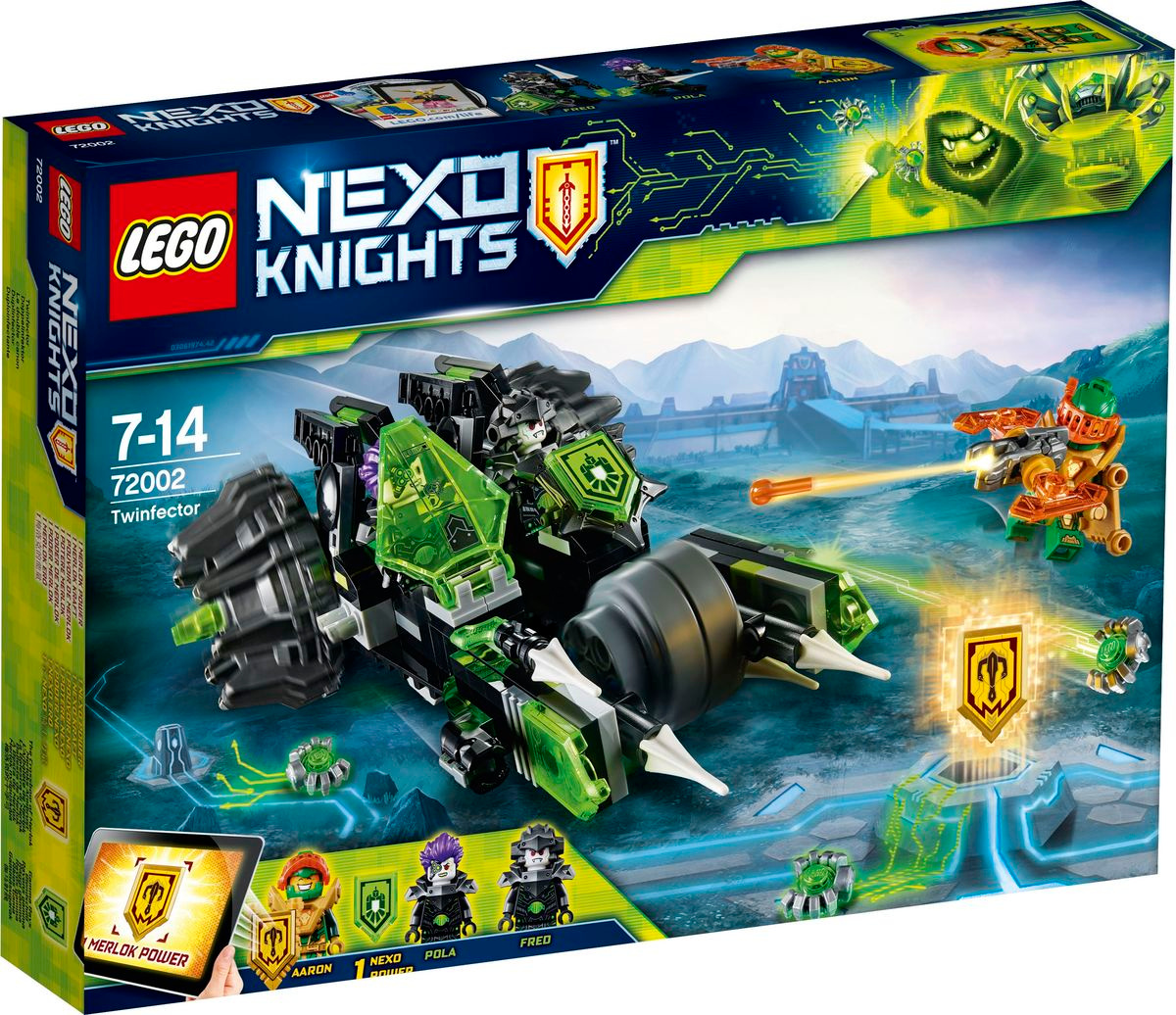 Конструктор LEGO Nexo Knights 72002 Боевая машина близнецов #1