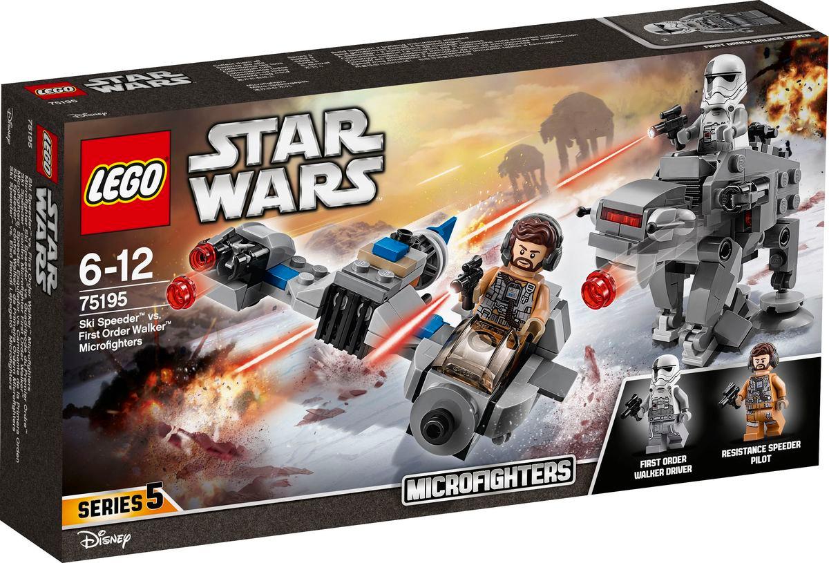 Конструктор LEGO Star Wars 75195 Бой пехотинцев Первого ордена против спидера на лыжах  #1
