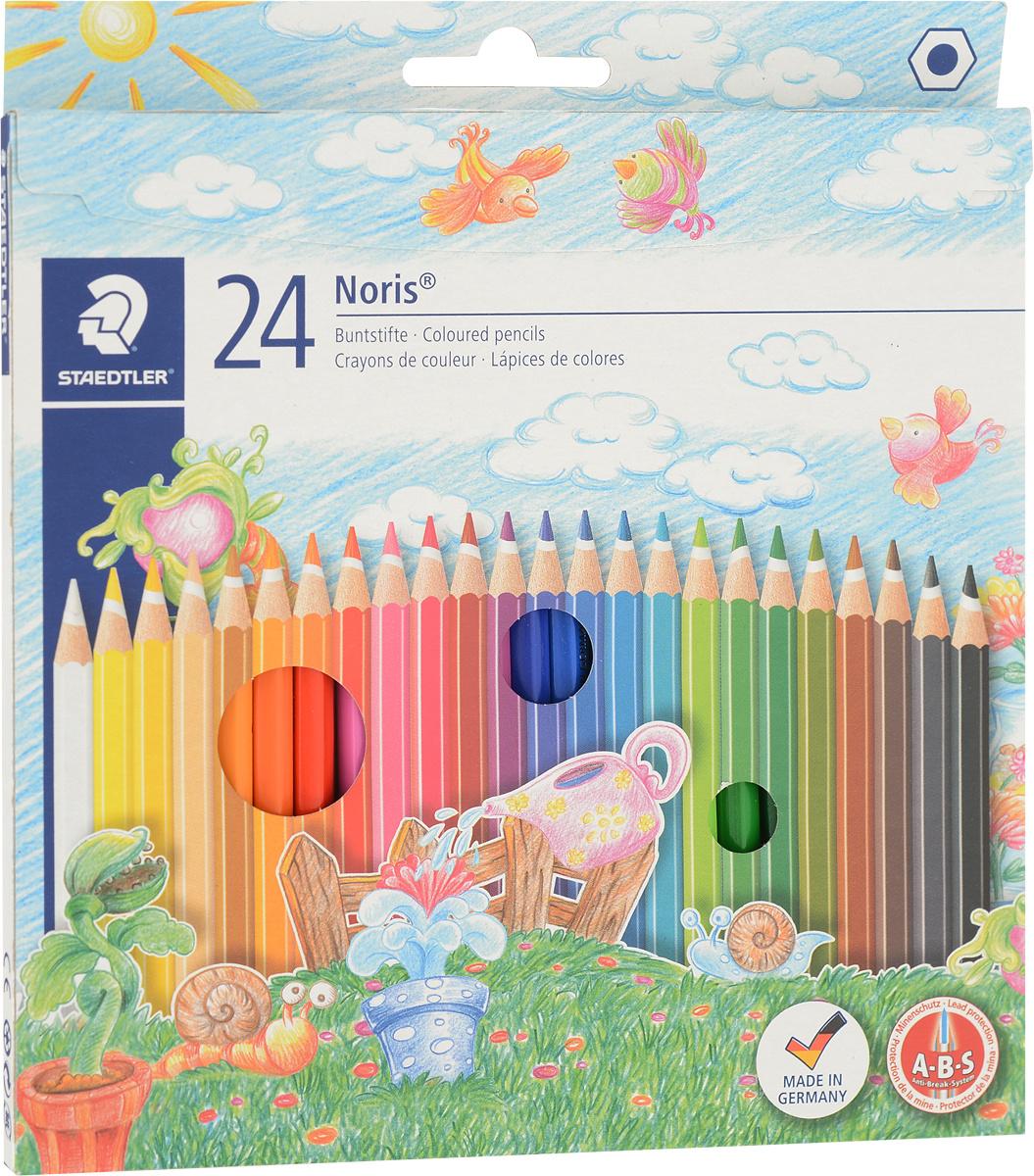Staedtler Набор цветных карандашей Noris Club 24 цвета #1