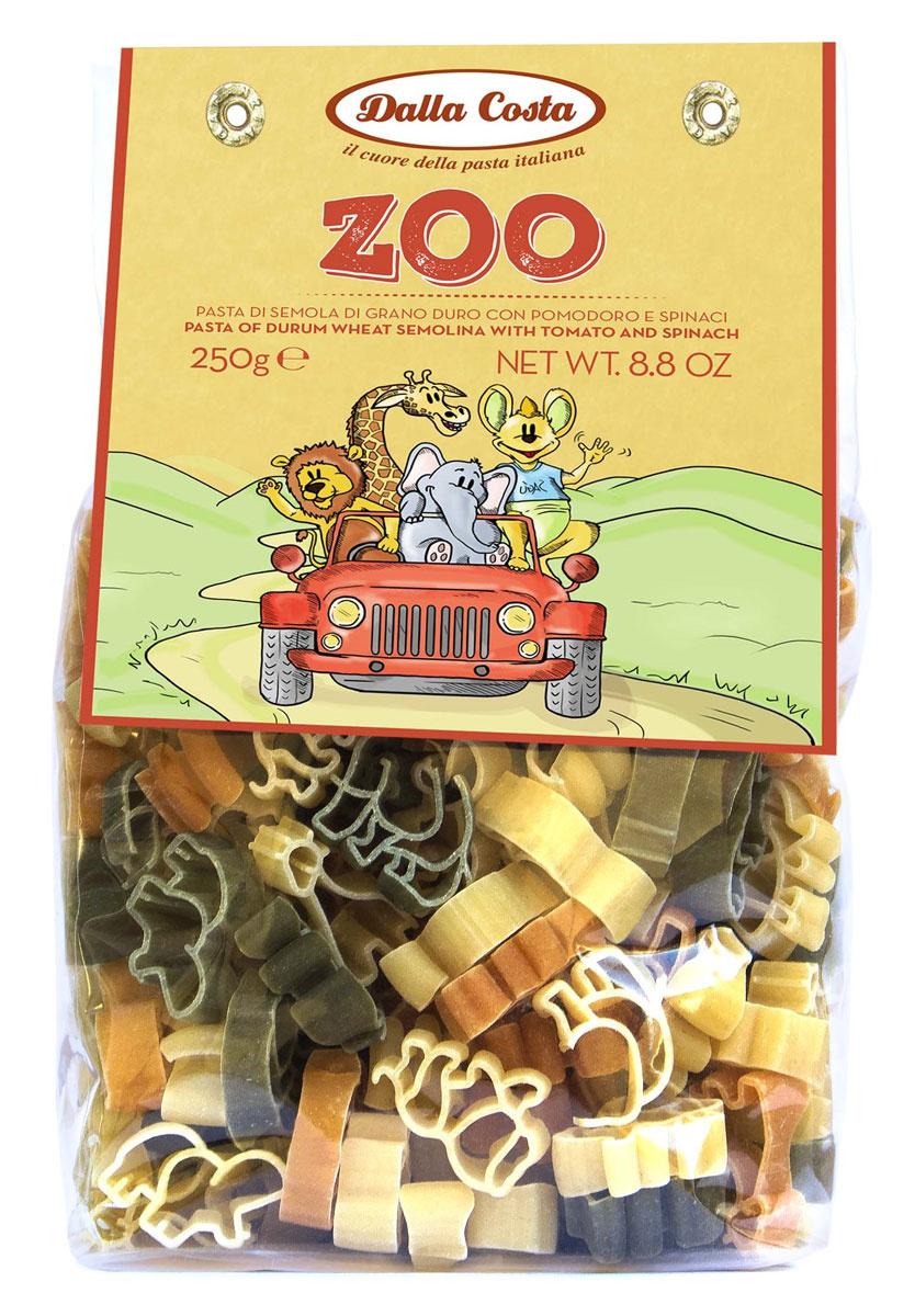 Dalla Costa Зоопарк без яиц со шпинатом и томатами, 250 г #1
