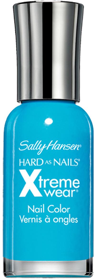 "Sally Hansen Лак для ногтей ""Hard As Nails Xtreme Wear Nail Color"", тон №130 Blue me Away, 11,8 мл  #1"