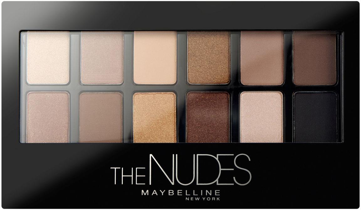 "Maybelline New York Палетка теней для век ""Nudes"", натуральные оттенки  #1"