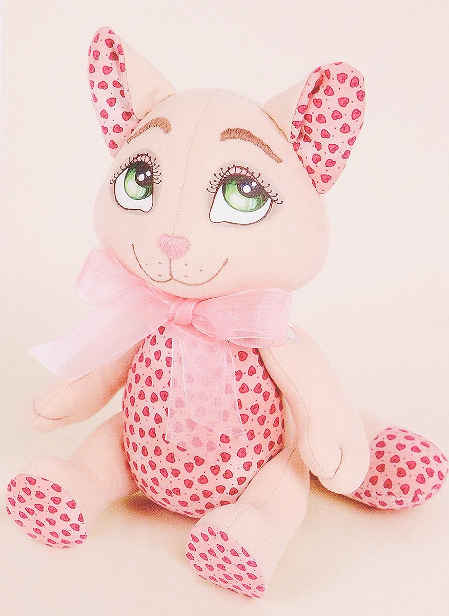 """Набор для создания игрушки Miadolla """"Кошечка Пинки"""", высота 25 см  #1"""