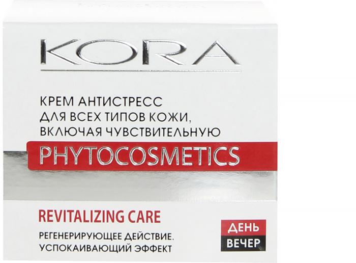 KORA Крем антистресс, для всех типов кожи, включая чувствительную, 50 мл  #1