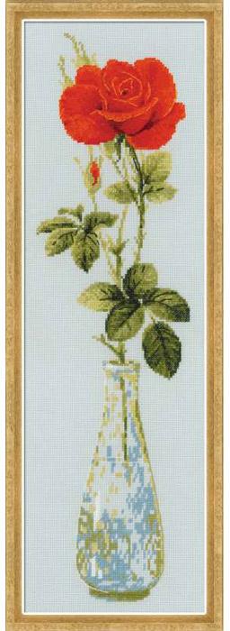 """Набор для вышивания """"Королева цветов"""", 15 х 50 см #1"""