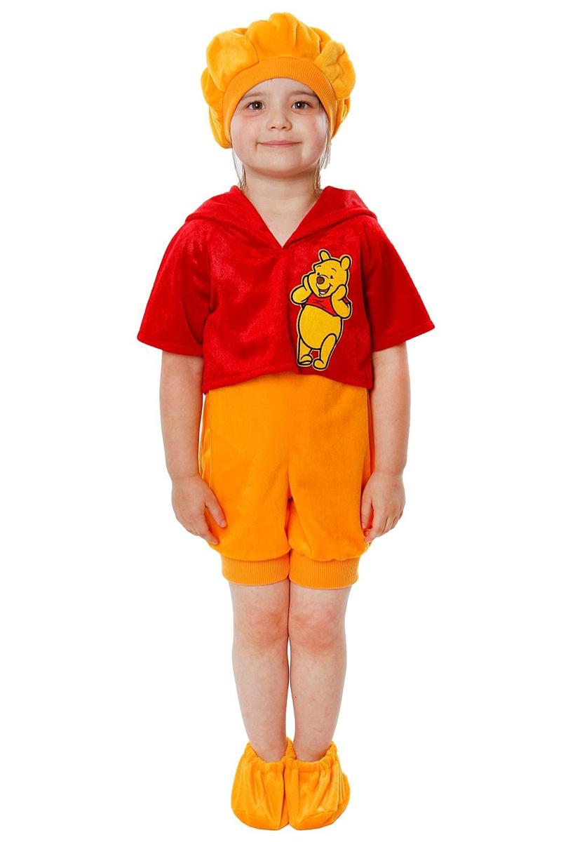 Батик Костюм карнавальный для мальчика Винни размер 26 #1