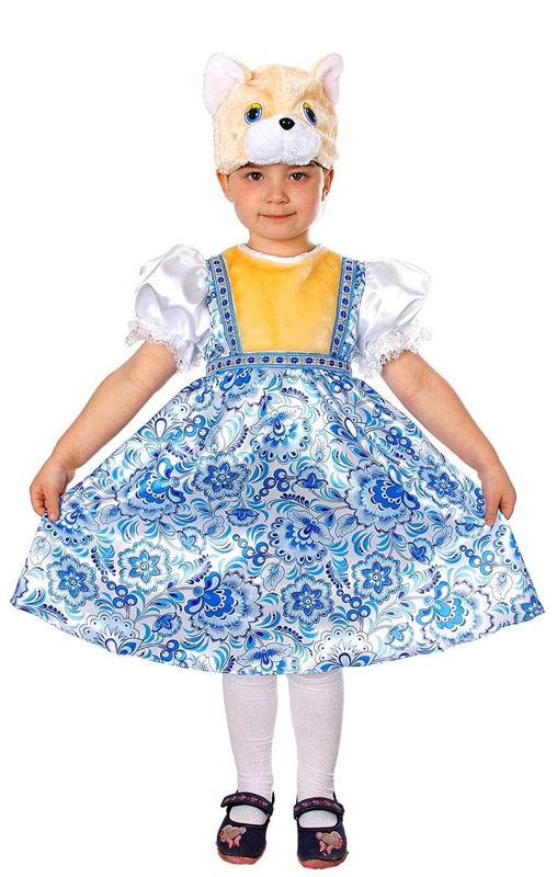 Батик Костюм карнавальный для девочки Кошка Миланья размер 28  #1