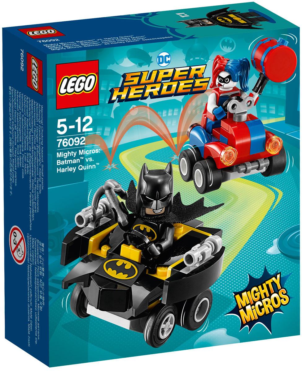 Конструктор LEGO DC Comics Super Heroes 76092 Бэтмен против Харли Квин  #1