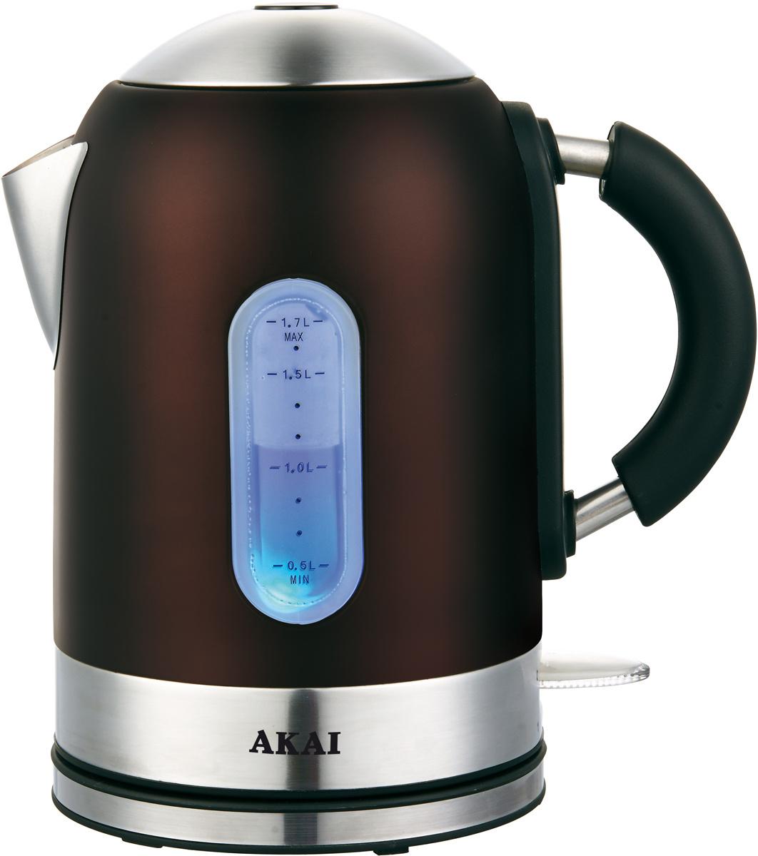 Электрический чайник Akai 1023D, шоколадный #1