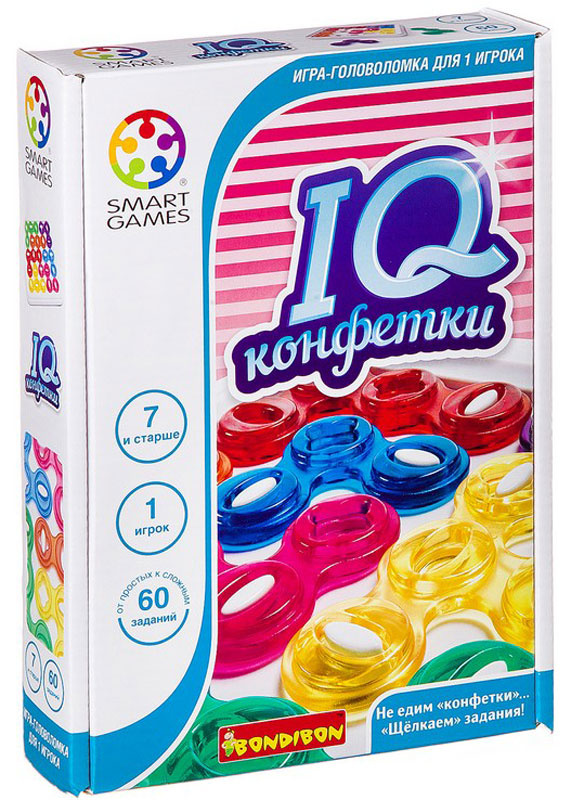 Bondibon Настольная игра IQ-Конфетки #1