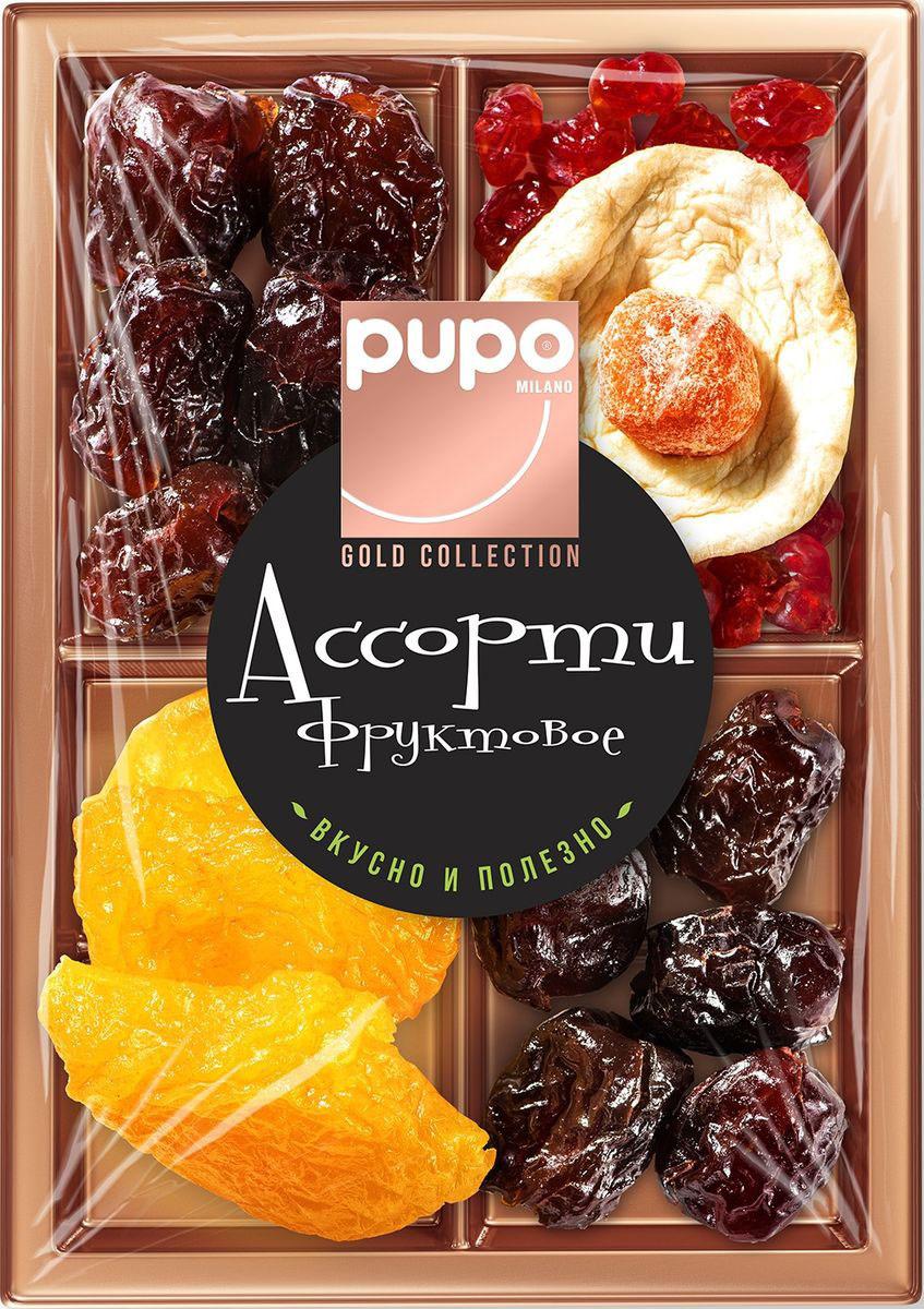 Pupo Gold Collection фруктовое ассорти финики, груша, яблоко, 230 г  #1