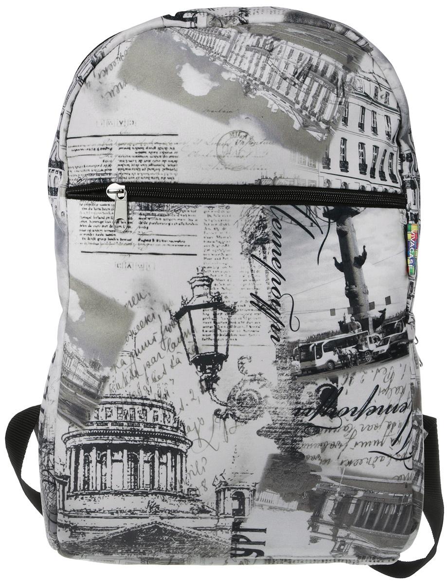 "VIVACASE Рюкзак для ноутбука Petersburg 15.6"", текстиль, кварцевый (VCN-BPB15-qrz)  #1"