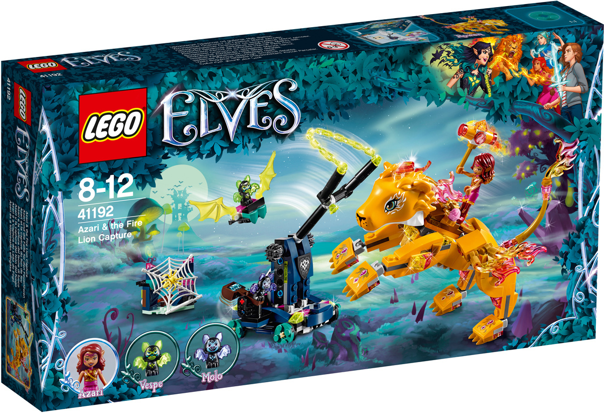 Конструктор LEGO Elves 41192 Ловушка для Азари и огненного льва  #1