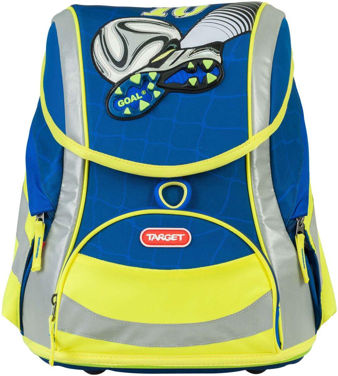a82c4490cfcd Target Ранец школьный Goal цвет синий — купить в интернет-магазине OZON.ru  с быстрой доставкой