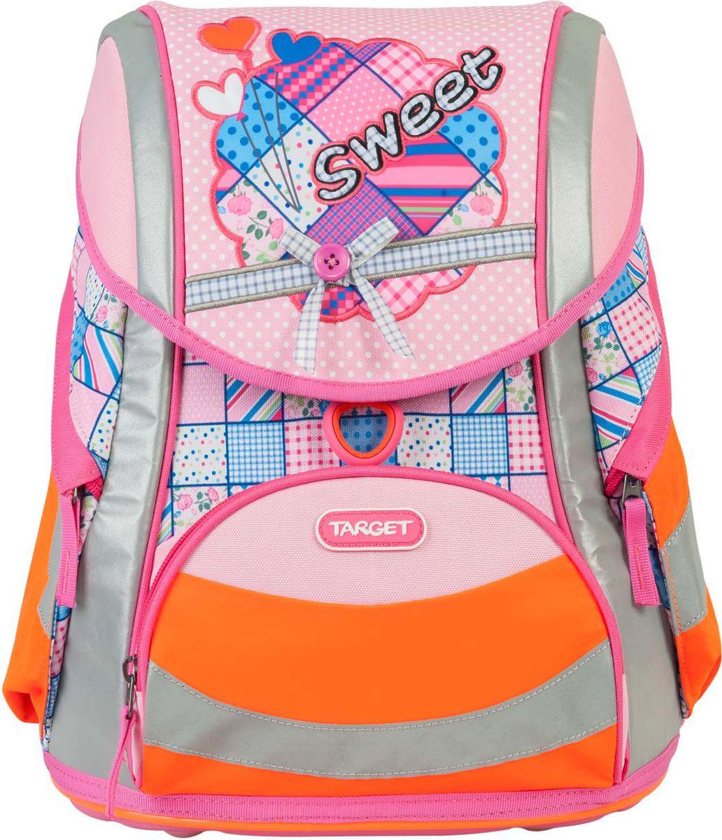 23c6438994e6 Target Ранец школьный Sweet Bow цвет розовый — купить в интернет-магазине  OZON.ru с быстрой доставкой