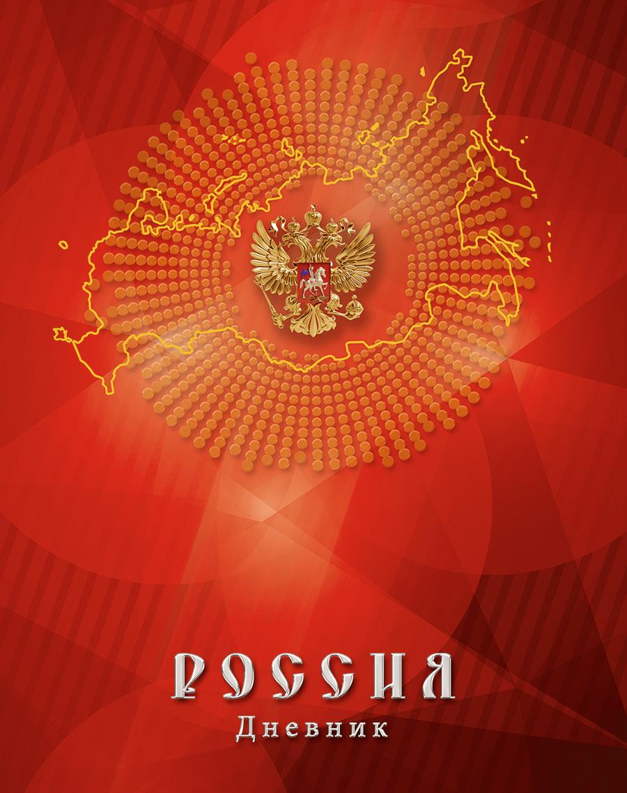 Апплика Дневник школьный Российская символика-22 #1