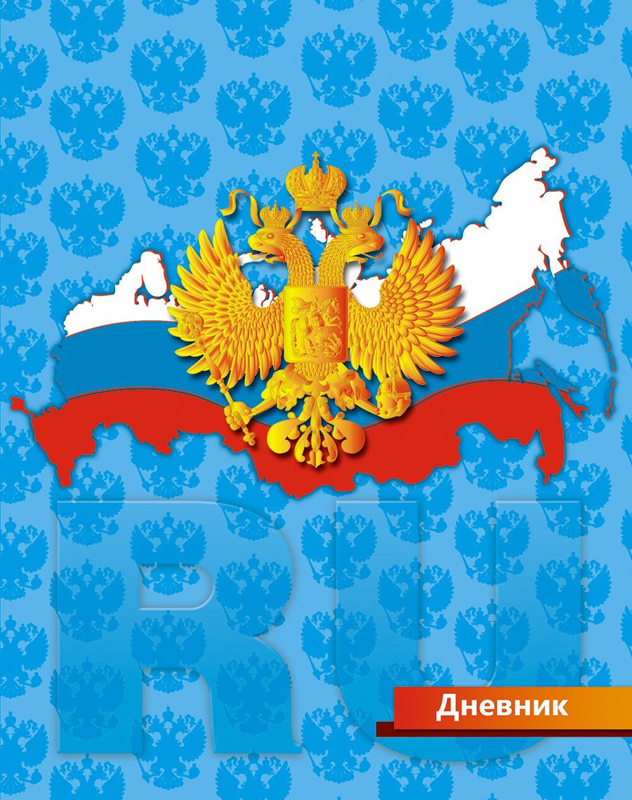 Апплика Дневник школьный для младших классов Российская символика-  #1