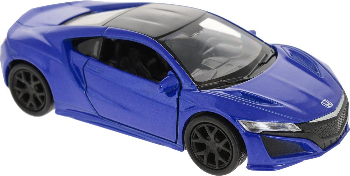 Welly Модель автомобиля Honda NSX цвет синий #1